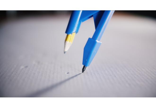 IQ-Parallelanreißer blau