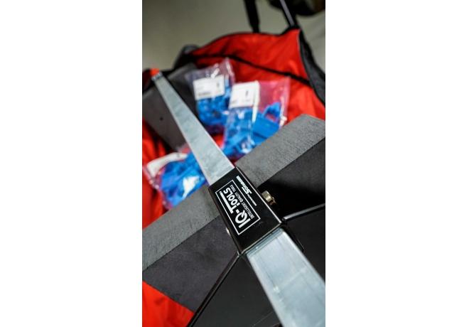 IQ-Montagetasche für Dielenzwinge und Abstandhalter