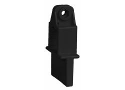 Distanzhalter 8 mm schwarz für Dielenzwinge