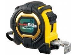 Bandmaß 5m/27mm extra stabil, G-MAGNET mit Elastomer und Magnet