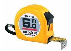 Bandmaß 5m/25mm gelb, HI-LOCK