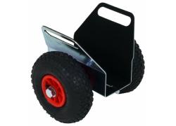 IQ-Plattenklemmwagen mit Lufträdern bis 120 mm