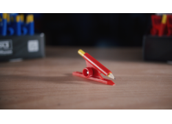 IQ-Display mit Parallelanreißer rot Inhalt = 30 Stück